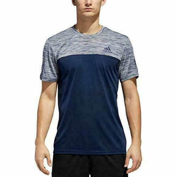 adidas Other - Adidas Climalite Men's Active Tech Tee Navy